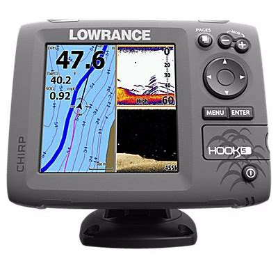 Finders Reviews Lowrance Hook 5 Fish Finder Review