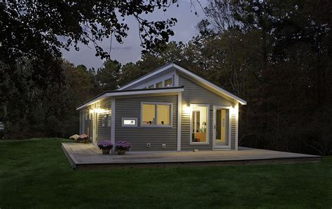 green cabin plans get attractive design of small prefab homes with