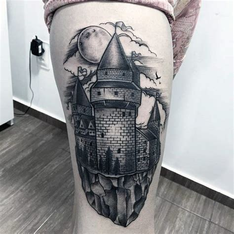 55 castle tattoo art designs nenuno creative