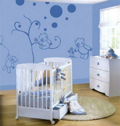 babyzimmer waende gestalten ideen