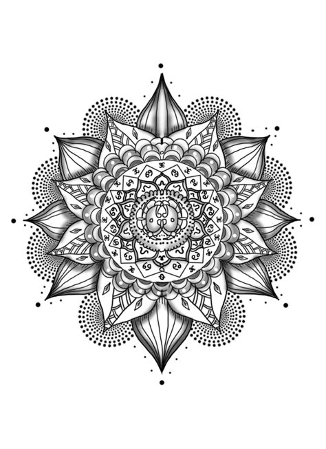 Mandala Tattoo Png | mandala tattoos png transparent images png all tattoo