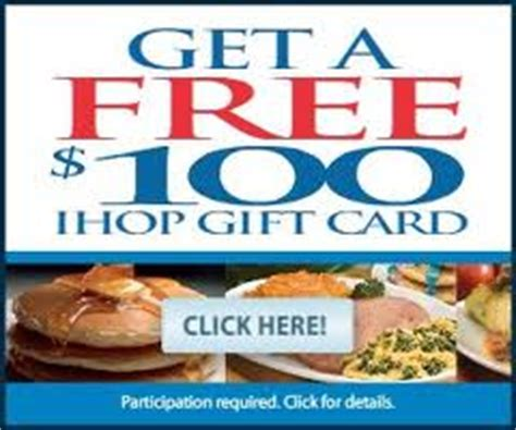 Ihop Discount Gift Cards - free ihop gift card
