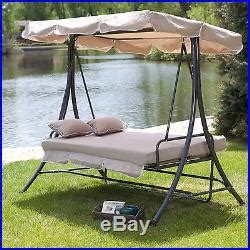 double swing bed hammock swing bed double hanging patio 2 person chair