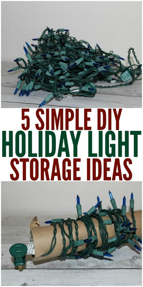 holiday light storage ideas no more tangled strings