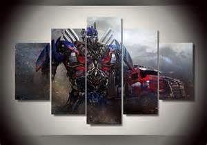 print painting optimus prime transformers wall artwork