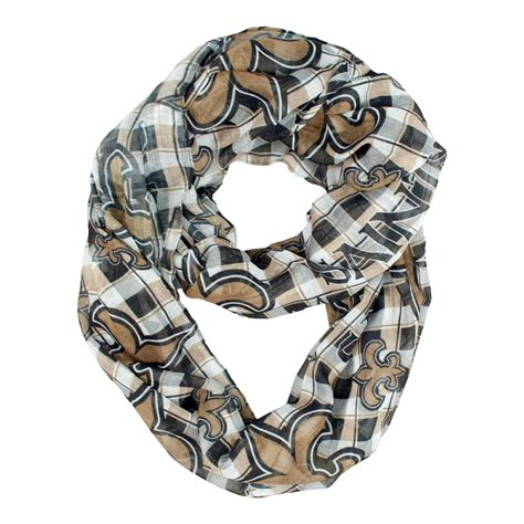nfl new orleans saints s infinity scarf