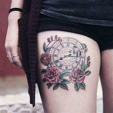 clock tattoo meaning clock ideas meaning best tattoos 2017 designs