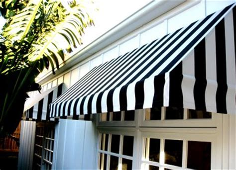 Black And White Awning by Sketch42 Suburban Bliss Striped Awnings