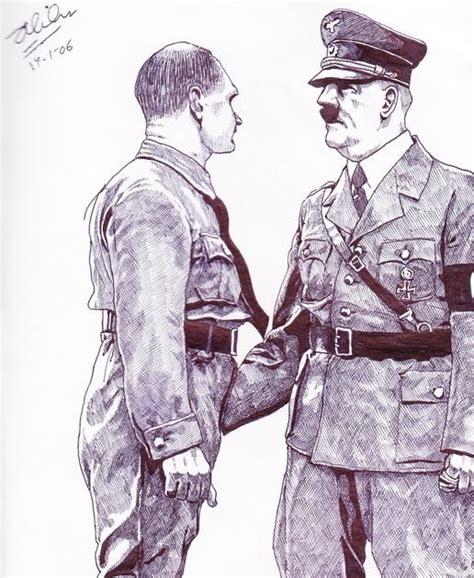 film kartun jepang tts nazi jerman gambar rudolf hess dan adolf hitler