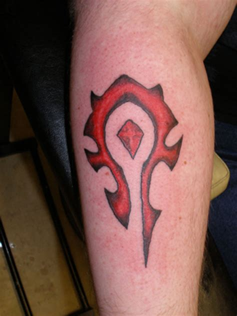 horde shoulder tattoo images