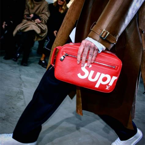 Lv Supreme Clutch 66639 supreme x louis vuitton for s fall winter 2017 collection spotted fashion
