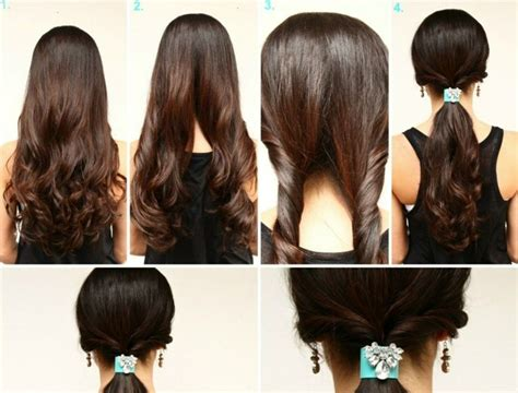 daily hairstyles at home coiffure facile 224 faire en quelques 233 tapes id 233 es et photos