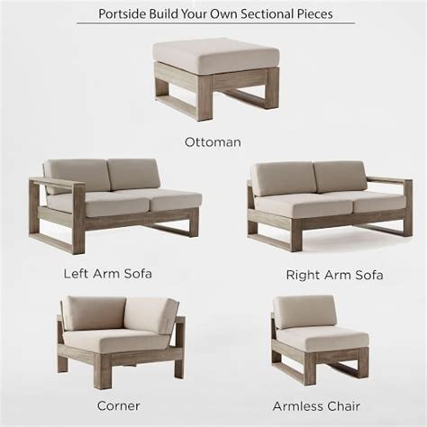 build outdoor sectional sofa 25 best ideas about outdoor sectional on pinterest