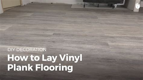 Which Direction To Lay Vinyl Plank - how to lay vinyl flooring diy projects