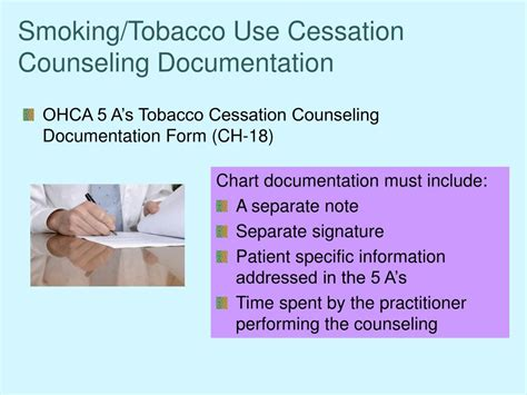 Hcpc Cessation Counseling Template