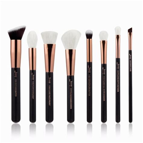 8pcs Set Brush Profesional by Jessup Brushes 8pcs Professional Makeup Brushes Set Makeup