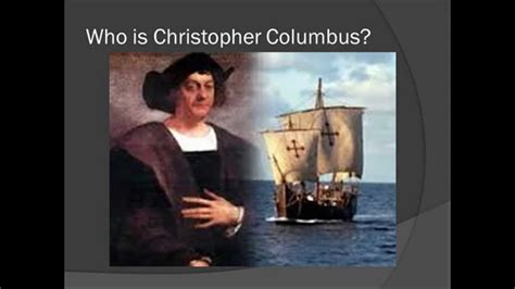 christopher columbus biography dailymotion christopher columbus powerpoint youtube