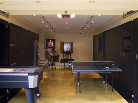 deluxe garage game room contemporary garage and shed garage game room decorating ideas