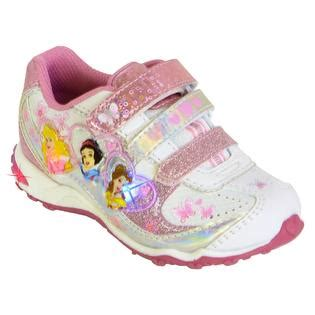 disney sneakers for toddlers disney toddler s princess light up athletic shoe