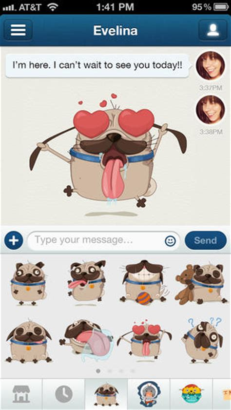 Ios For Couples For Ios And Android Adds Stickers To Spruce Up Your