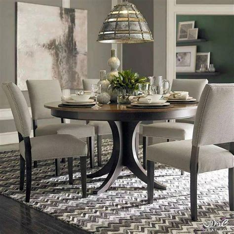 best dining tables 2017 20 best collection of pedestal dining tables and chairs