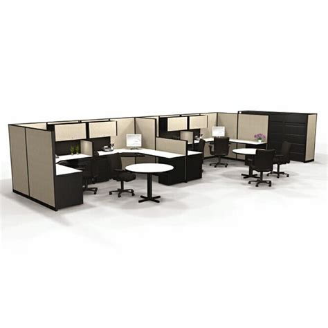 Herman Miller Office Desks Custom Re Manufactured Herman Miller Modular Office Furniture Systems