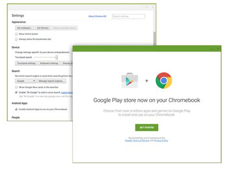 chrome play store how to use android apps on chrome os