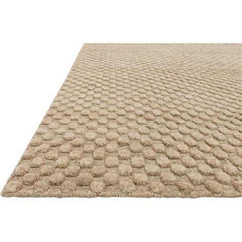 dot rugs dottie modern beige sand wool dot raised pile rug 3 6x5 6 kathy kuo home