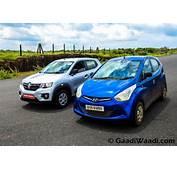 Renault Kwid Vs Hyundai Eon  Comparison