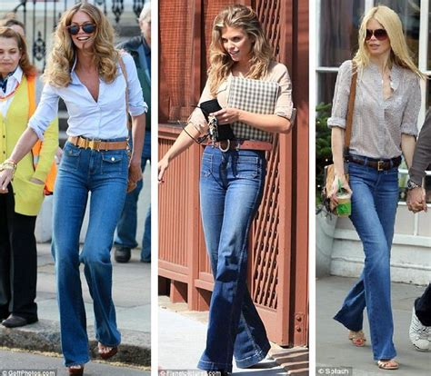 70 s fashion the flare jean trend street style fashion trends retro