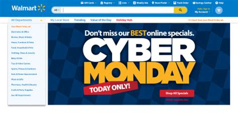 walmart doubles the number of deals for cyber monday with