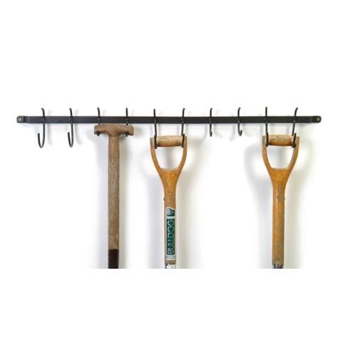 Garden Shed Storage Hooks tool hook shed or garage storage rail or rack or tool tidy