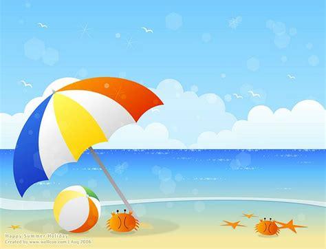 beach cliparts cartoons   clip art