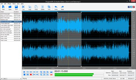 download mp3 cutter and mixer for pc dj audio editor download