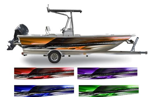 vinyl wrap bottom of boat warrant boat wrap customized for your boat ebay