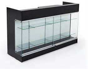 Glass Display Cabinet Counter Retail Store Counters Front Glass Cabinet For Storage
