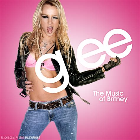 britney spears glee coverlandia the 1 place for album single cover s