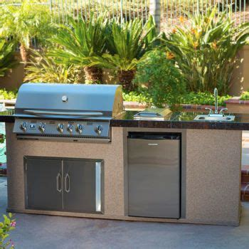 urban islands 5 burner outdoor kitchen island by bull pin by marty mullen on cing pinterest