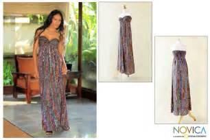 Bali Dress rayon batik dress bali empress the hunger site