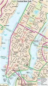 Map Of New York New York by Central New York City Map Maps Educational And