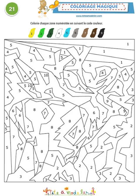 Coloriage A Imprimer Code Couleurll