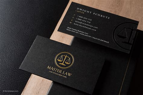 lawyer business card templates free classic modern black duplex attorney business card