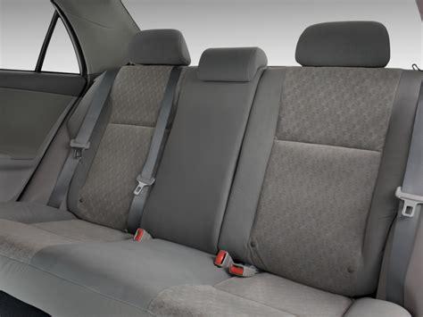 Toyota Seats Image 2010 Toyota Corolla 4 Door Sedan Auto Natl Rear