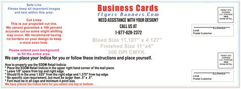 eddm postcard template eddm postcard templates free shipping and low prices