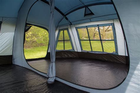 Large Cabin Tent by Tahoe Gear Ozark 3 Season 16 Person Large Family Cabin