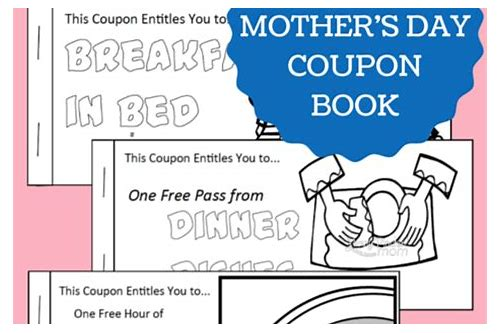 mother's day kid coupons