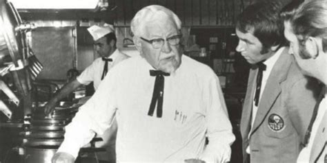 biography of colonel sanders colonel sanders story bio facts home family auto
