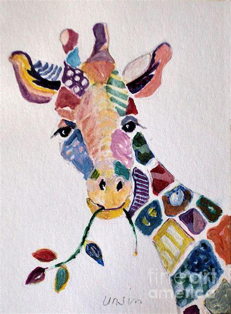 Patchwork Giraffe - patchwork giraffe by diane ursin