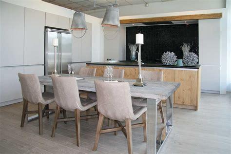 landelijke keuken hout landelijke industri 235 le keuken met hout keukens de abdij