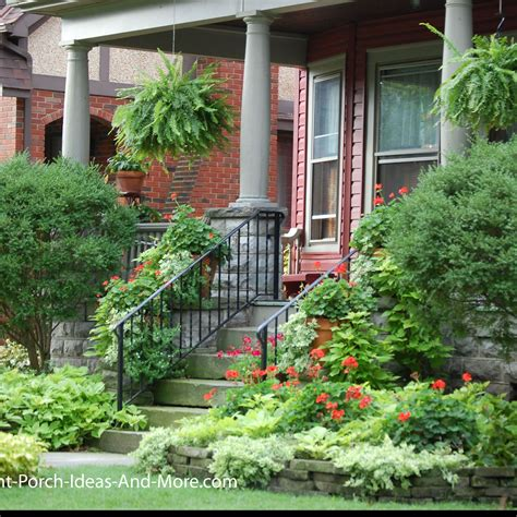 Porch Garden Ideas Porch Landscaping Ideas For Your Front Yard And More